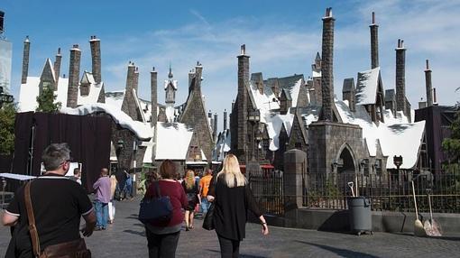 Asi Es El Nuevo Parque De Harry Potter En El Corazon De Hollywood