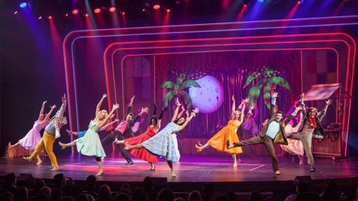 «Grease», el musical, en el teatro del Harmony of the seas