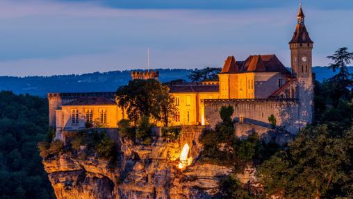 El castillo de Rocamadour
