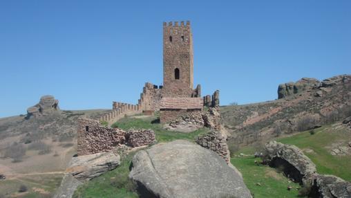 Vista de la torre norte, desde la torre sur