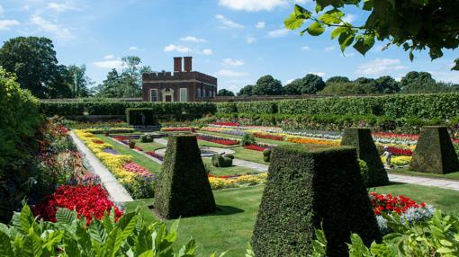 The Pond Garden, en Hampton Court Palace