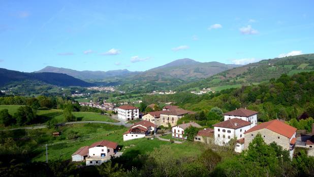 Valle del Baztán, en Navarra
