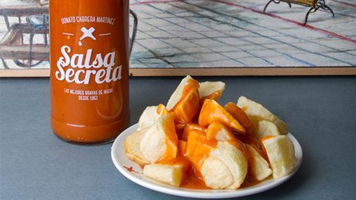 Salsa y patatas bravas de Docamar