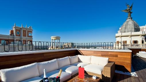 Terrazas de verano diecisiete azoteas impresionantes para for Azoteas madrid