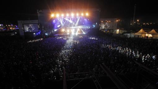 Vista de uno de los conciertos del FIB en su edición de 2013