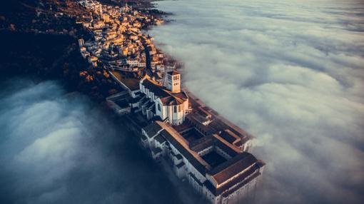 Basílica de San Francisco de Asís, en Asís (Umbría)