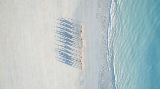 Cable Beach, en Asutralia