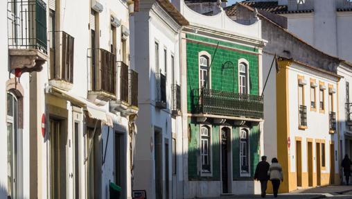 Vistas de la ciudad medieval de Évora