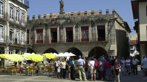 Casas de Largo de Oliveira en Guimaraes