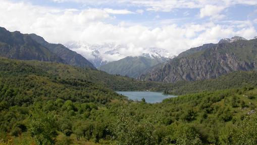 Cordillera de Tien Shan Occidental