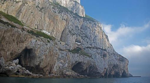 Vista exterior de las cuevas