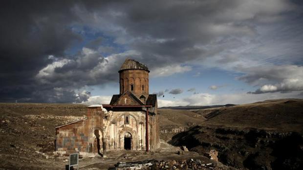 Iglesia de San Gregorio en las ruinas de Ani, Turquía
