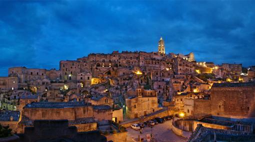 Anochecer en Matera