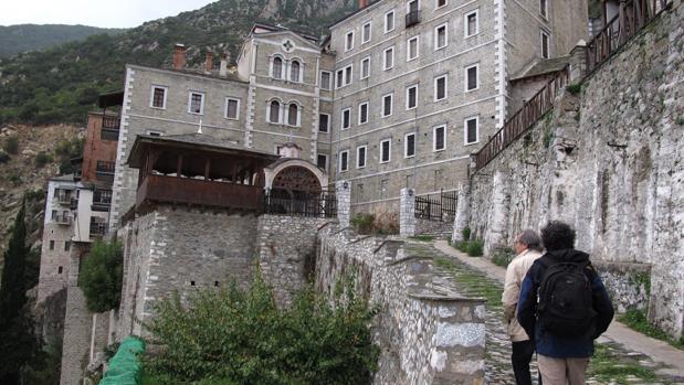 Entrada al monasterio de San Pablo