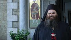 Retrato de un monje ortodoxo