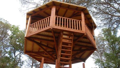 Las diez mejores caba as en rboles de espa a - Cabanas de madera los pinos ...