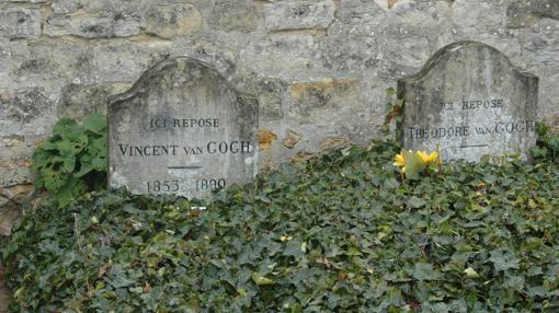 La tumba de Van Gogh, en Auvers