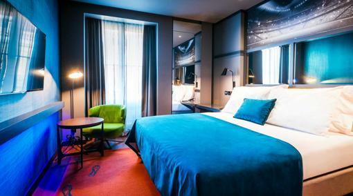 Habitación del hotel Pestana CR7 en Lisboa