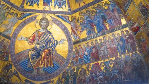 Mosaicos del Baptisterio