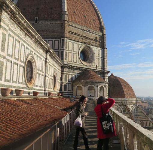 Recorrido por la terraza superior del Duomo