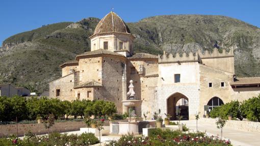 Santa María de la Valldigna, en Simat de la Valldigna