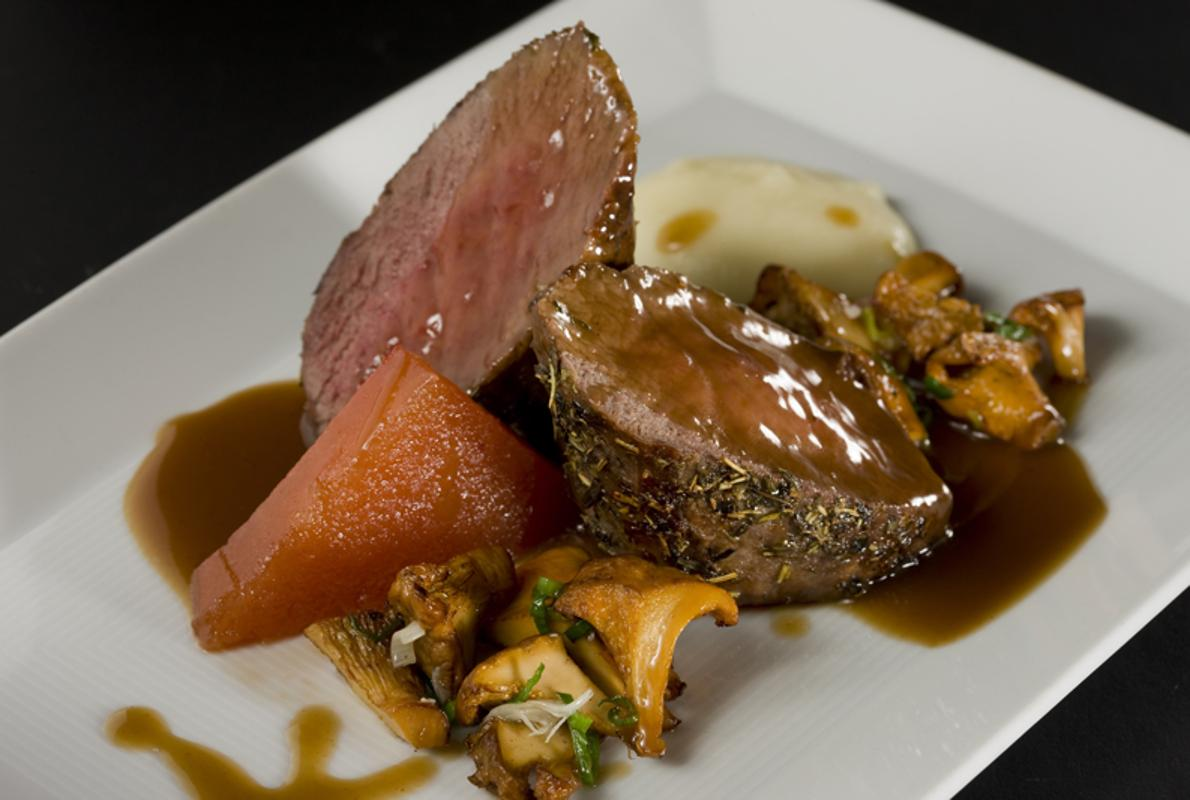 Diez de los mejores restaurantes de espa a para comer caza - Restaurante de edurne pasaban ...