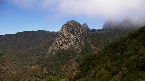 Paisaje del Parque Nacional de Garajonay