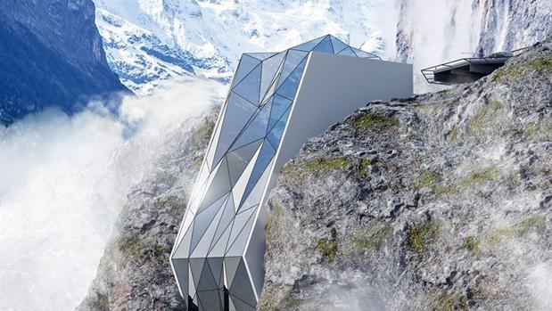 El proyecto del Hotel de los Alpes