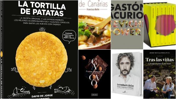 Diez libros de gastronomía para regalar esta navidad