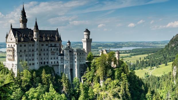 Castillo de Neuschwanstein, en Baviera (Alemania)