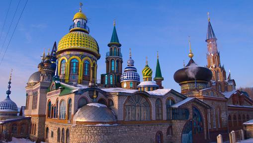 El templo de las siete religiones, en Kazán