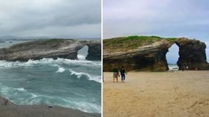 Cinco lugares que desaparecen al subir la marea