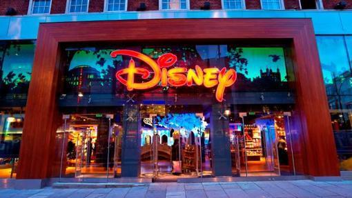 La fachada de Disney Store, en Londres