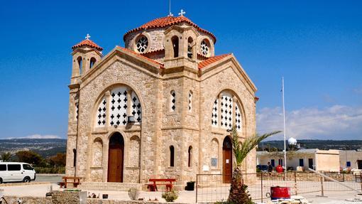La Iglesia Basílica griega de San Jorge (Agios Georgios)