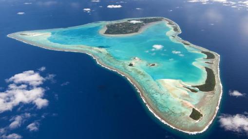 Isla de Aitutaki, consu espectacular laguna