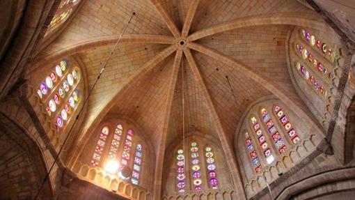 Bóveda de la catedral de Tarragona