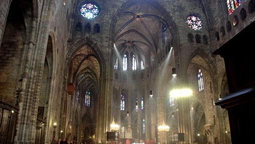 Nave central de la Catedral de Gerona