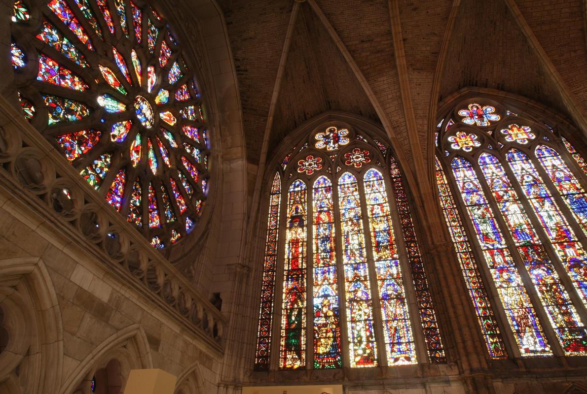 Las 20 vidrieras medievales m s impresionantes de espa a - Vidrieras de colores ...