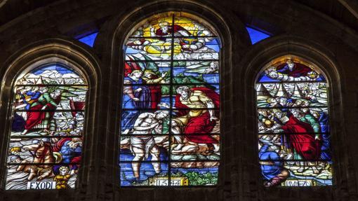 Vidrieras de la Catedral de Segovia