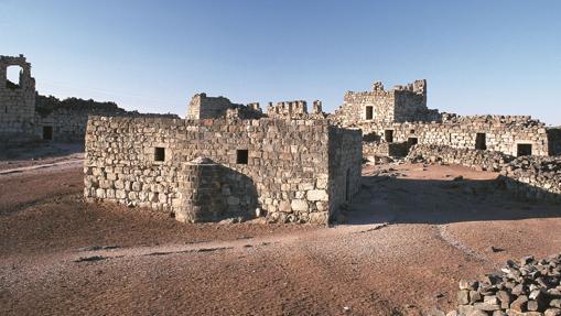 Uno de los espacios del castillo Qasr al-Azraq
