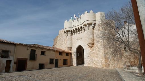 Puerta de Santa María, en Hita