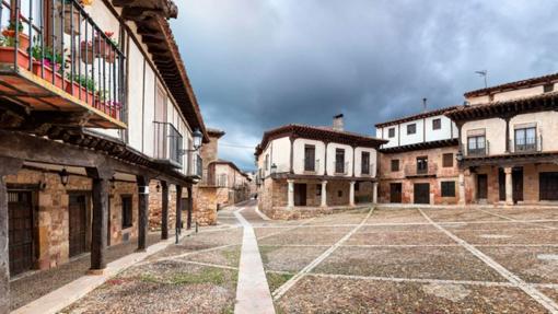 Plaza del Trigo, en Atienza