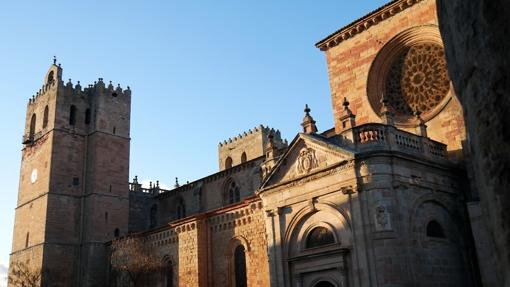 Catedral de Sigüenza, al atardecer