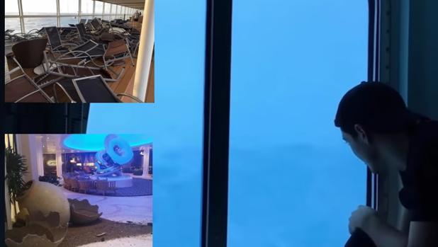Imágenes del video del crucero de
