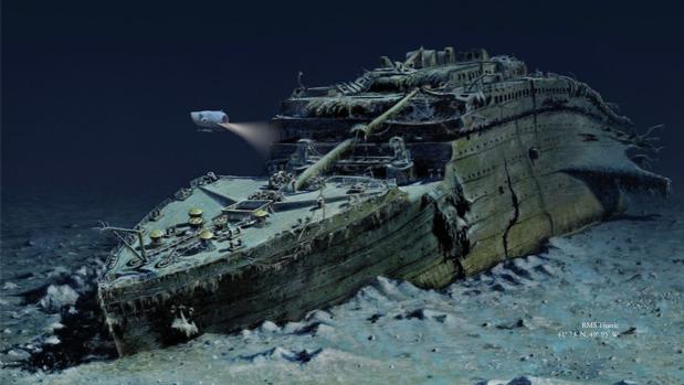 Imagen del Titanic utilizada en la promoción de Blue Marble Private
