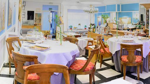 Sala del restaurante La Paloma