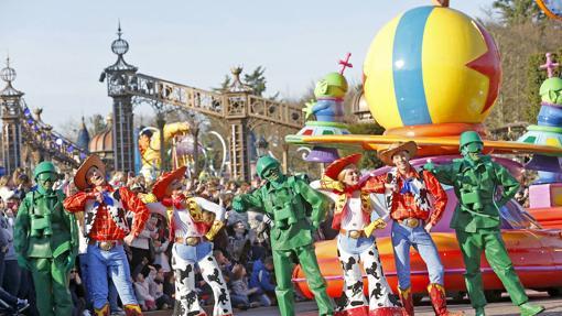 Carroza «Amistad», inspirada en la saga Toy Story