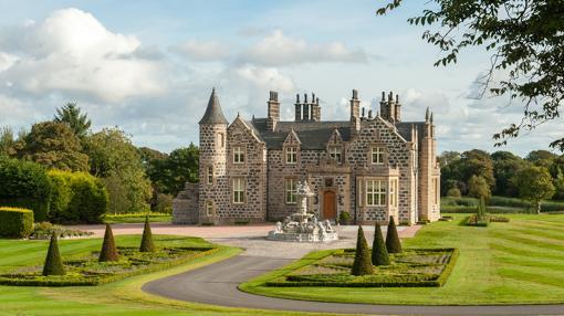 MacLeod House & Lodge, hotel de Donald Trump en su campo de Aberdeen