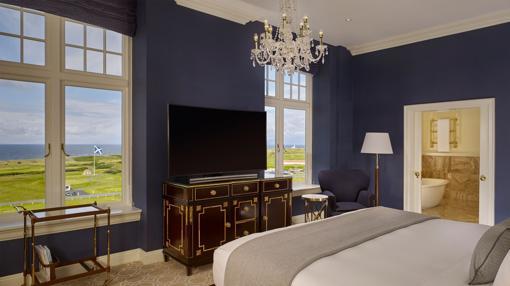 Una de las habitaciones del Trump Turnberry, a Luxury Collection Resort