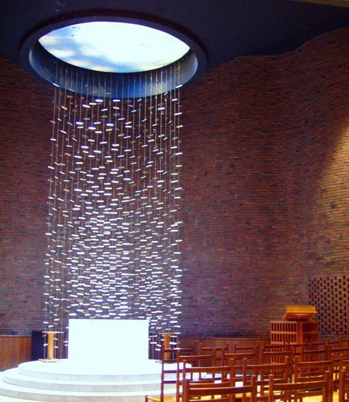 Interior de la MIT Chapel